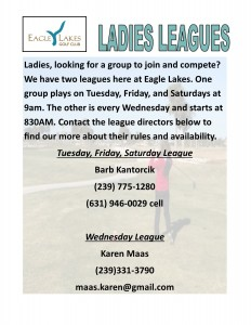 ladies leagues